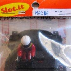 Scalextric: SLOT IT: BANDEJA DE PILOTO PARA MAZDA.. NUEVAS. Lote 50322416