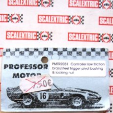 Scalextric: PROFESSOR MOTOR: PMTR2031. CONTROLLER LOW FRICTION BRASS/STEEL FRIGGER PIVOT. NUEVO. Lote 50335051