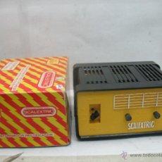 Scalextric: SCALEXTRIC TRI-ANG REF: 3001 - TRANSFORMADOR DE PLÁSTICO PARA PISTA 125 O 220 VOLTIOS. Lote 50817005