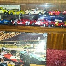Scalextric - Circuito y 10 coches scalextric Exin años 70 - 50756352