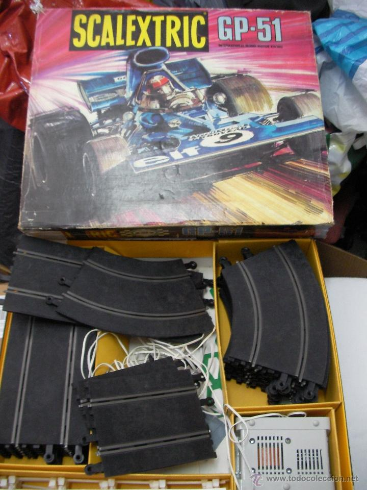 Scalextric: ANTIGUO CIRCUITO SCALEXTRIP GP 51 - Foto 1 - 50995956