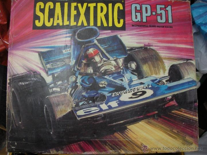 Scalextric: ANTIGUO CIRCUITO SCALEXTRIP GP 51 - Foto 3 - 50995956