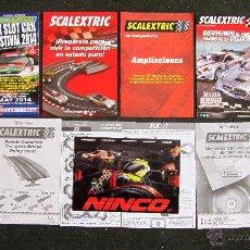 Scalextric - SCALEXTRIC, NINCO Y OTROS SLOT: LOTE DE CATALOGOS. MUY BUEN ESTADO - 51226634