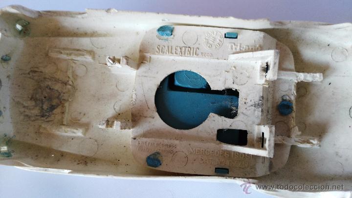 Scalextric: antiguo coche de scalextric mercedes carroceria - Foto 3 - 51249551