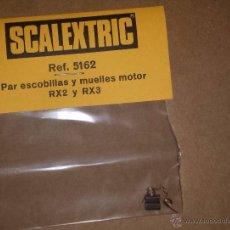 Scalextric: SCALEXTRIC PAR ESCOBILLAS Y MUELLE MOTOR. Lote 51715666