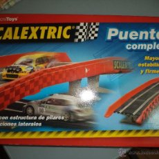 Scalextric: SCALEXTRIC TECNITOYS 2001.PUENTE COMPLETO DE 4 PILARES.. Lote 77400013