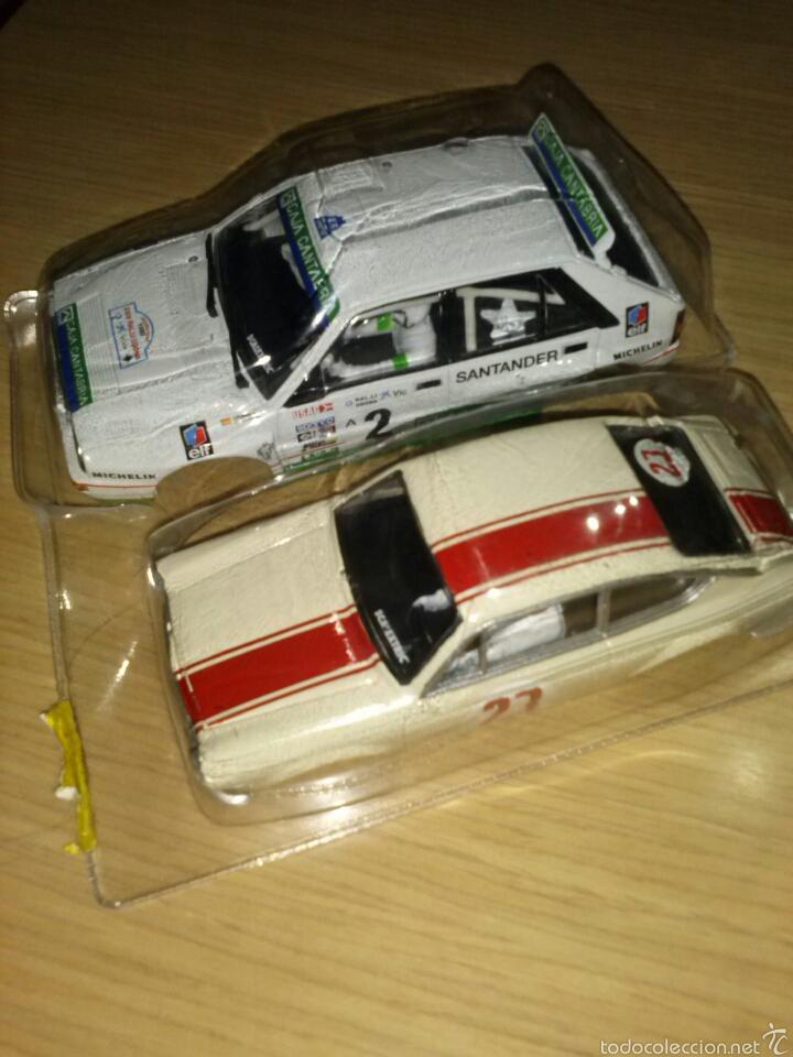 2 CARROCERÍAS NUEVAS SCALEXTRIC SEAT 850 LANCIA DELTA INTEGRALE CARROCERIA NUEVA LOTE (Juguetes - Slot Cars - Scalextric Pistas y Accesorios)