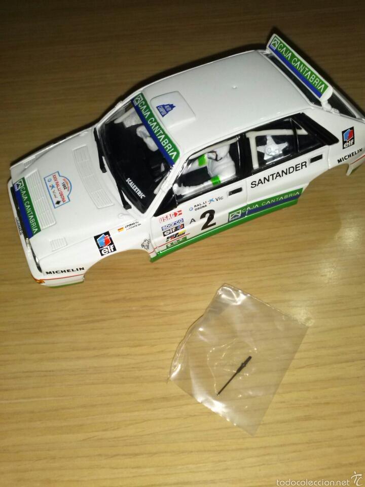 Scalextric: 2 CARROCERÍAS NUEVAS SCALEXTRIC SEAT 850 LANCIA DELTA INTEGRALE CARROCERIA NUEVA LOTE - Foto 2 - 180859847