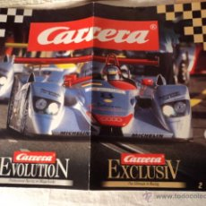 Scalextric: CARRERA CATALOGO COCHES. Lote 52558434