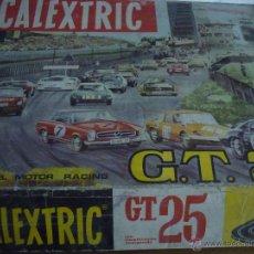 Scalextric: SCALEXTRIC CIRCUITO GT 25. ORIGINAL. COMPLETO. AÑO 1970. COCHES MERCEDES 250 SL SPORT. Lote 52913168