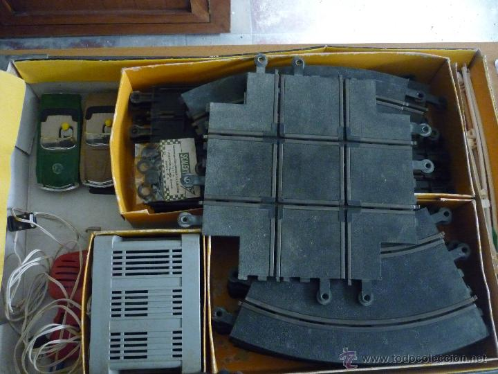 Scalextric: SCALEXTRIC CIRCUITO GT 25. ORIGINAL. COMPLETO. AÑO 1970. COCHES MERCEDES 250 SL SPORT - Foto 2 - 52913168
