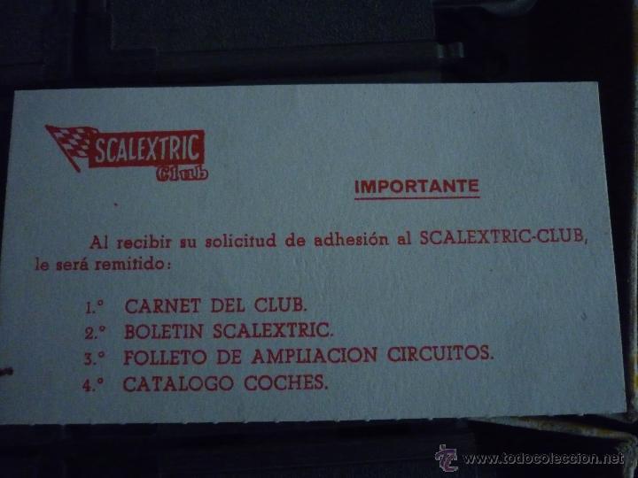 Scalextric: SCALEXTRIC CIRCUITO GT 25. ORIGINAL. COMPLETO. AÑO 1970. COCHES MERCEDES 250 SL SPORT - Foto 8 - 52913168
