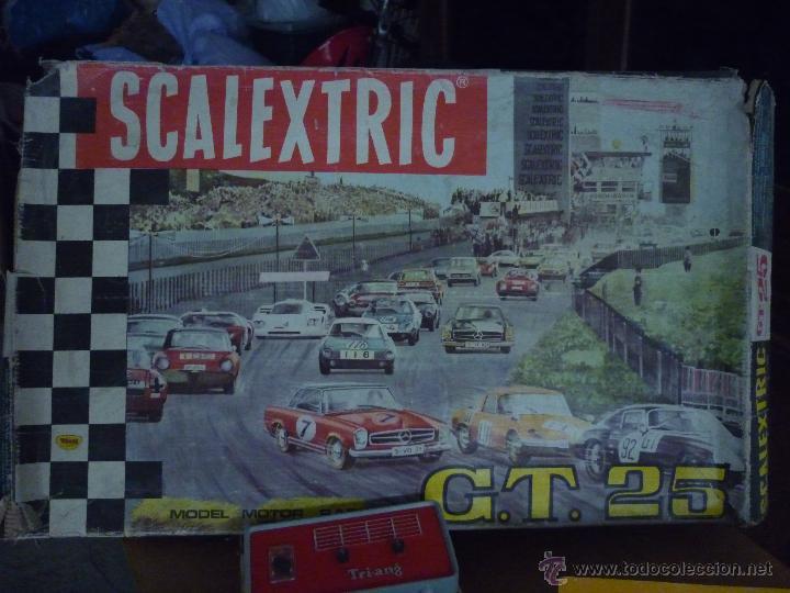 Scalextric: SCALEXTRIC CIRCUITO GT 25. ORIGINAL. COMPLETO. AÑO 1970. COCHES MERCEDES 250 SL SPORT - Foto 16 - 52913168