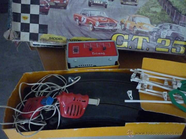 Scalextric: SCALEXTRIC CIRCUITO GT 25. ORIGINAL. COMPLETO. AÑO 1970. COCHES MERCEDES 250 SL SPORT - Foto 17 - 52913168