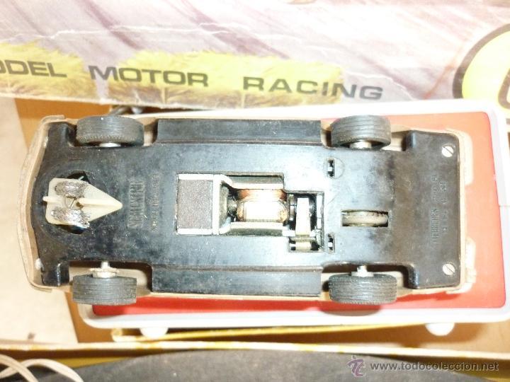 Scalextric: SCALEXTRIC CIRCUITO GT 25. ORIGINAL. COMPLETO. AÑO 1970. COCHES MERCEDES 250 SL SPORT - Foto 21 - 52913168