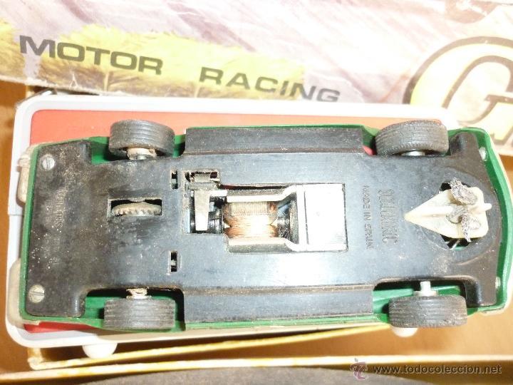 Scalextric: SCALEXTRIC CIRCUITO GT 25. ORIGINAL. COMPLETO. AÑO 1970. COCHES MERCEDES 250 SL SPORT - Foto 23 - 52913168