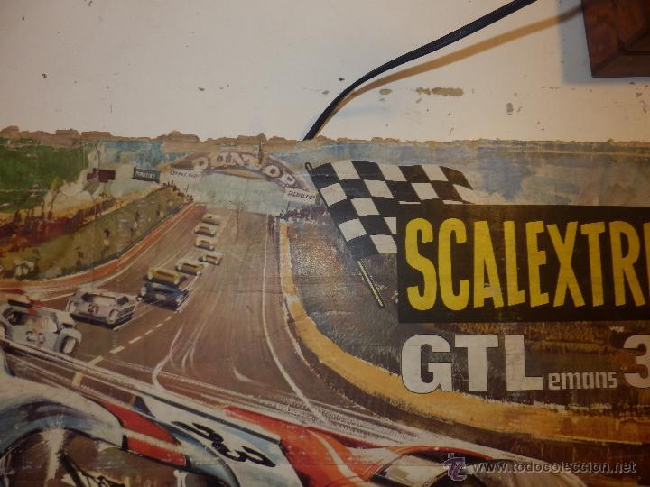 Scalextric: gtl 30 lemans exin portada de la caja del circuito scalextric - Foto 4 - 203918846