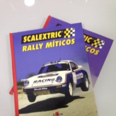 Scalextric: SCALEXTRIC, RALLY MITICOS, 2 TOMOS, ALTAYA. Lote 54089822