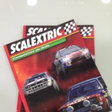 Scalextric: SCALEXTRIC, CAMPEONES DE RALLY, 2 TOMOS, ALTAYA. Lote 54089846