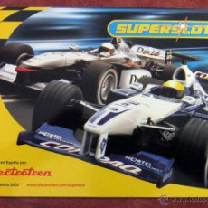 Scalextric: SCALEXTRIC - SUPERSLOT - CATALOGO 2002 - 36 PAGINAS. Lote 54571323