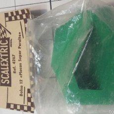 Scalextric: BOLSA DE 12 PLACAS DE SUPER PERALTE. Lote 55327744