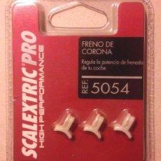 Scalextric: SCALEXTRIC PRO FRENO DE CORONA 5054 (3UDS.) SCX MSC OSC NSR RACER SCALEAUTO SLOT.IT NINCO TEAMSLOT. Lote 55400411