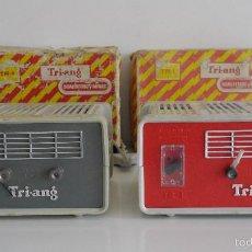 Scalextric: TRANSFORMADOR-RECTIFICADOR. TRI-ANG TR-1. PARA SCALEXTRIC Y MINIC. CON CAJAS ORIGINALES.. Lote 56007079