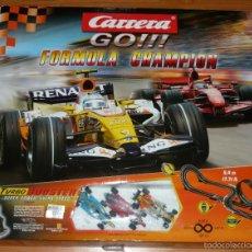 Scalextric: CARRERA GO !!! FORMULA CHAMPION 62090.. Lote 56203817