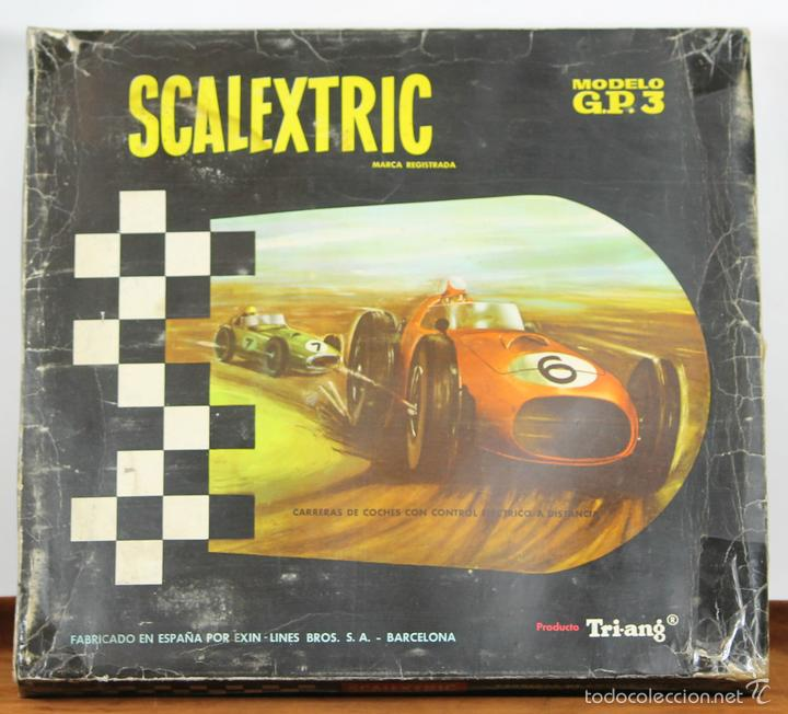 CIRCUITO ESCALEXTRIC. MODELO GP 30. TRI-ANG. CIRCA 1960. (Juguetes - Slot Cars - Scalextric Pistas y Accesorios)