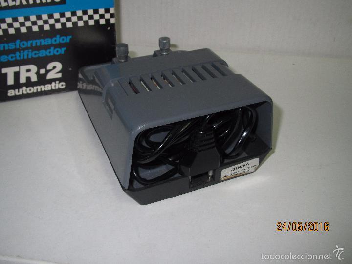 Scalextric: Transformador Scalextric TR-2 AUTOMATIC 125/220 V - Ref 3002 en Caja Original - Foto 2 - 57096547