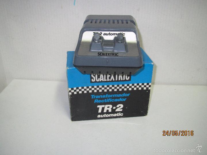 Scalextric: Transformador Scalextric TR-2 AUTOMATIC 125/220 V - Ref 3002 en Caja Original - Foto 3 - 57096547