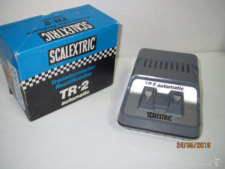 Scalextric: Transformador Scalextric TR-2 AUTOMATIC 125/220 V - Ref 3002 en Caja Original - Foto 4 - 57096547