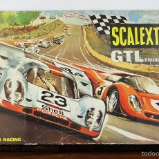 Scalextric: SCALEXRTRIC GTL LEMANS 30. PISTA INCOMPLETA. FALTAN LOS COCHES. CIRCA 1980.. Lote 57105079