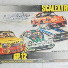 Scalextric: SCALEXTRIC GP 12 COCHES LANCIA STRATOS 4055/4065 Y DOCUMENTACION. Lote 57183465