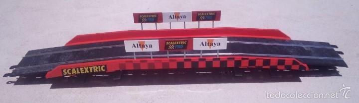 SCALEXTRIC PUENTE COMPLETO SCX EXIN MSC OSC SCALEAUTO NINCO TEAMSLOT SUPERSLOT (Juguetes - Slot Cars - Scalextric Pistas y Accesorios)