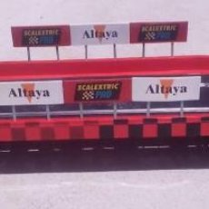 Scalextric: SCALEXTRIC PUENTE COMPLETO SCX EXIN MSC OSC SCALEAUTO NINCO TEAMSLOT SUPERSLOT. Lote 58435297