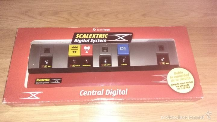 CENTRAL DIGITAL SYSTEM SCALEXTRIC DIGITAL REF.2500 (Juguetes - Slot Cars - Scalextric Pistas y Accesorios)