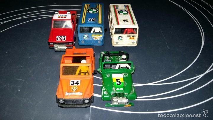 LOTE DE CARROCERÍAS DE STS (Juguetes - Slot Cars - Scalextric Pistas y Accesorios)