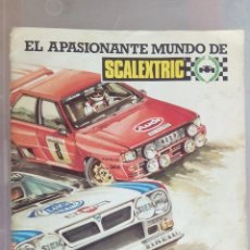Scalextric: SCALEXTRIC EXIN, GUÍA DEL SCALEXTRISTA. Lote 60729583