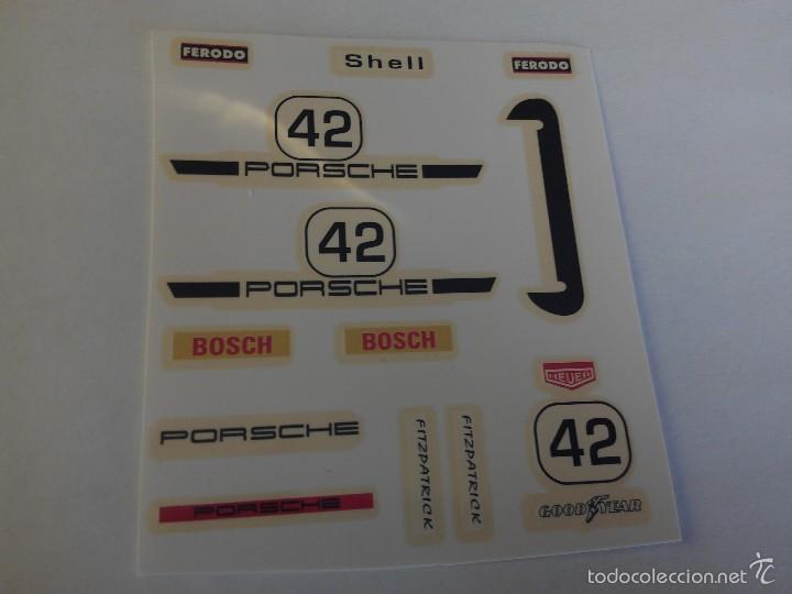 Scalextric exin calca decoracion porsche 911 comprar pistas y circuitos scalextric en - Decoracion scalextric ...