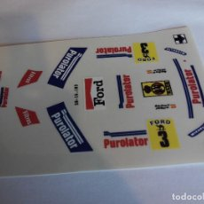 Scalextric: SCALEXTRIC EXIN ADHESIVO DECORACION FORD RS 200 PUROLATOR. Lote 210768895