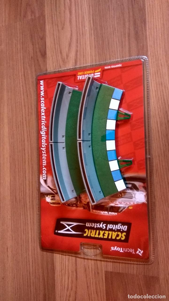 BORDE CON VALLA CURVA INTERIOR THE DIGITAL SYSTEM SCALEXTRIC TECNITOYS SCX REF. 2012 (Juguetes - Slot Cars - Scalextric Pistas y Accesorios)