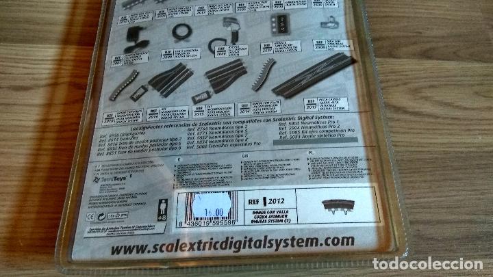 Scalextric: BORDE CON VALLA CURVA INTERIOR THE DIGITAL SYSTEM SCALEXTRIC TECNITOYS SCX REF. 2012 - Foto 2 - 206384287