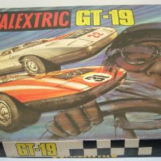 Scalextric: SCALEXTRIC EXIN CIRCUITO GT-19 CON 2 COCHES MERCEDES C-111. Lote 62428944