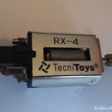 Scalextric: SCALEXTRIC TECNITOYS MOTOR R 4 CONTACTO POR CABLES. Lote 80768300