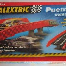 Scalextric: SCALEXTRIC TECNITOYS, PUENTE COMPLETO, EN CAJA. CC. Lote 77857089