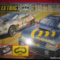 Scalextric: CAJA DE SCALEXTRIX RAC DE INGLATERRA SIN COCHES. Lote 63540224