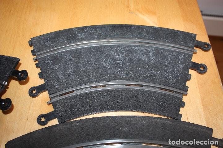 Scalextric: SET COMPLETO 3 CURVAS SUPER RACING (PERALTADAS) + 4 CURVAS STANDARD - Foto 5 - 64030775