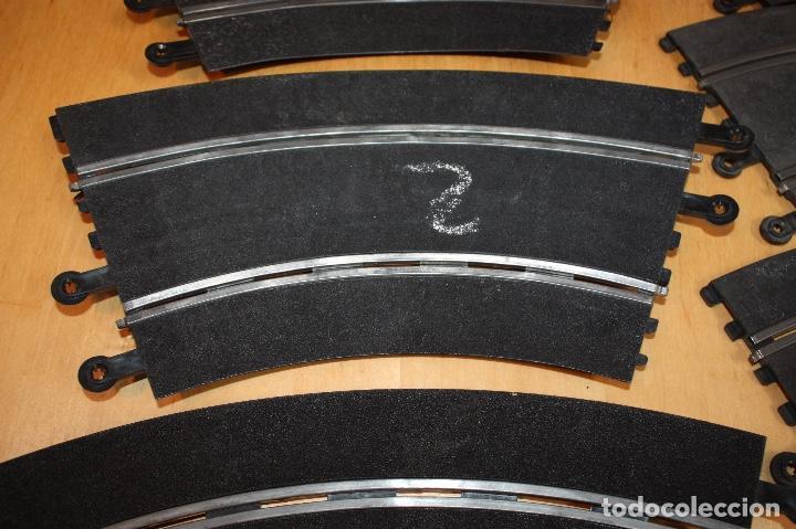 Scalextric: SET COMPLETO 3 CURVAS SUPER RACING (PERALTADAS) + 4 CURVAS STANDARD - Foto 7 - 64030775