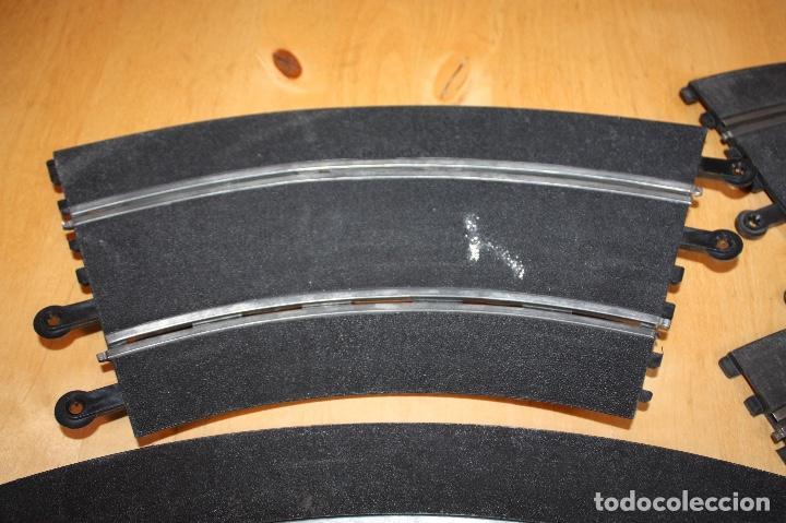 Scalextric: SET COMPLETO 3 CURVAS SUPER RACING (PERALTADAS) + 4 CURVAS STANDARD - Foto 8 - 64030775